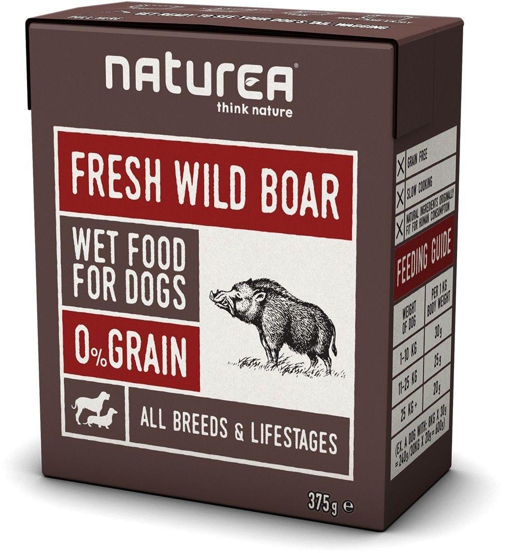 Naturea fresh Wild Boar 375g