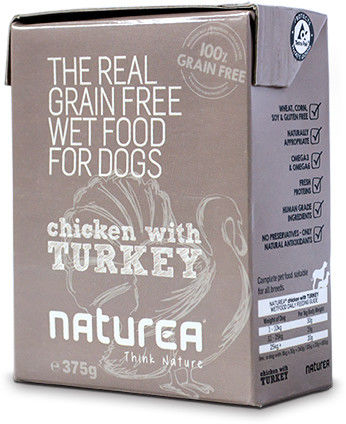 Naturea fresh Chicken & Turkey 375g