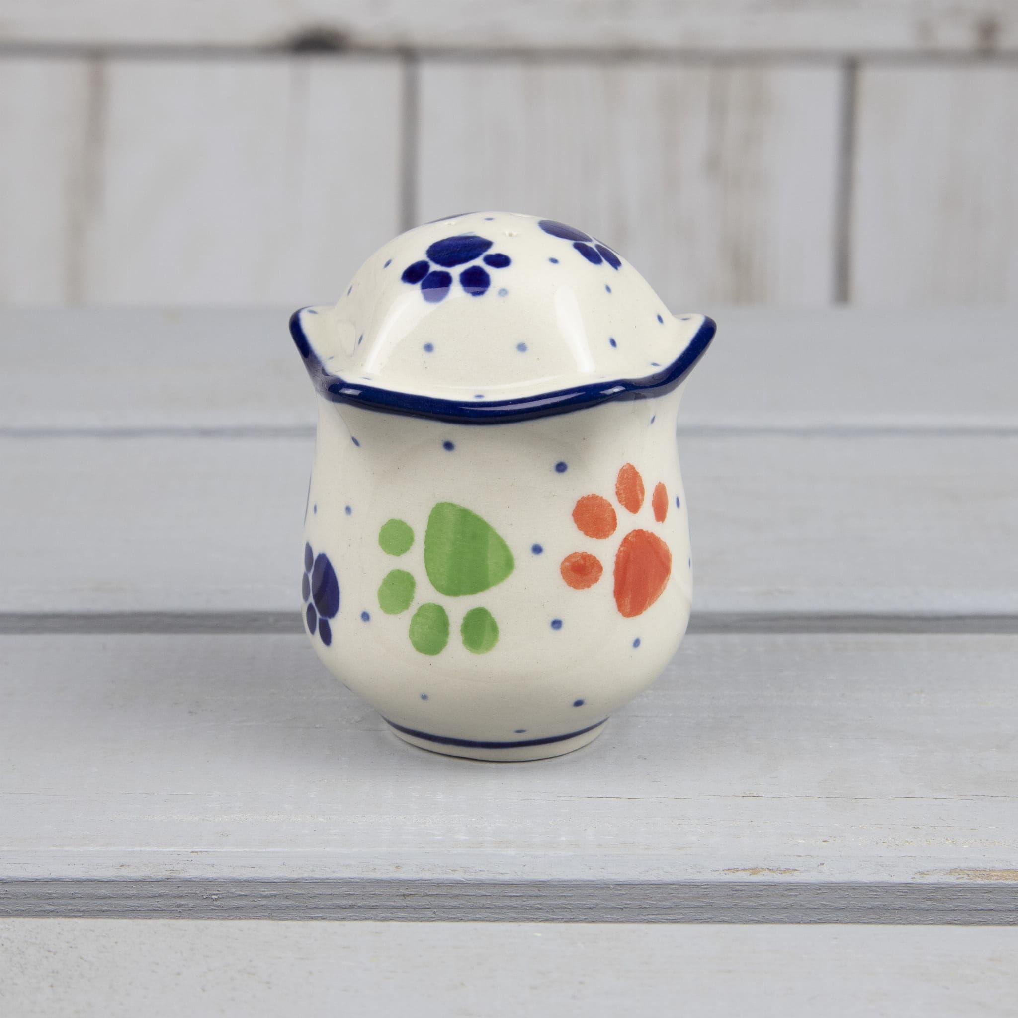 Pieprzniczka / solniczka ceramiczna, Bolesławiec