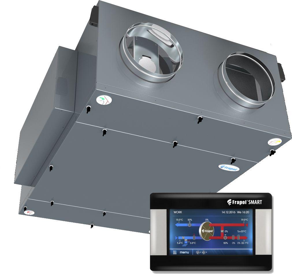 Onyx Premium 1300 [1300m3/h=150Pa] Rekuperator z montażem Centrala wentylacyjna z odzyskiem ciepła