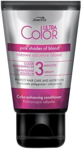 Joanna Ultra Color odżywka koloryzująca odcienie różu 100g