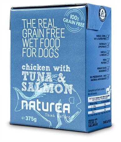 Naturea fresh Chicken Tuna & Salmon 375g