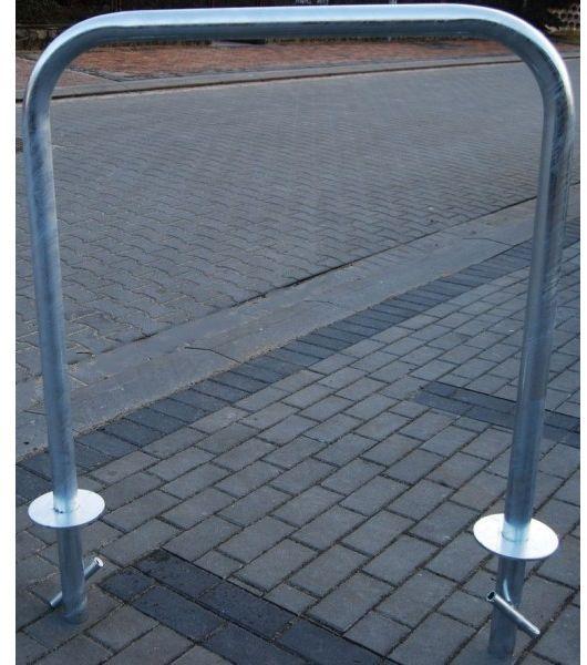 Stojak rowerowy, na rowery bramka U do wbetonowania