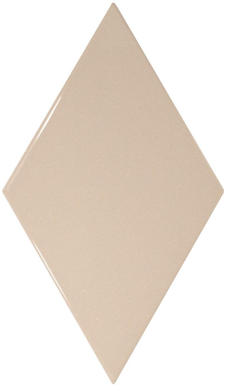 Rhombus Wall Cream Smooth 15,2x26,3