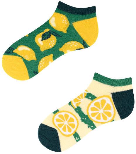 Stopki, Lemon Kids Low, Todo Socks, Cytryny, Owoce, Limonki, Kolorowe Dziecięce