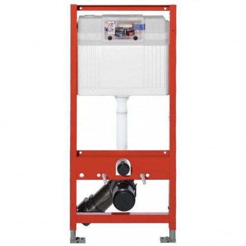 Stelaż TECE BASE do WC podtynkowy 3/6l ze wspornikami TECEbase