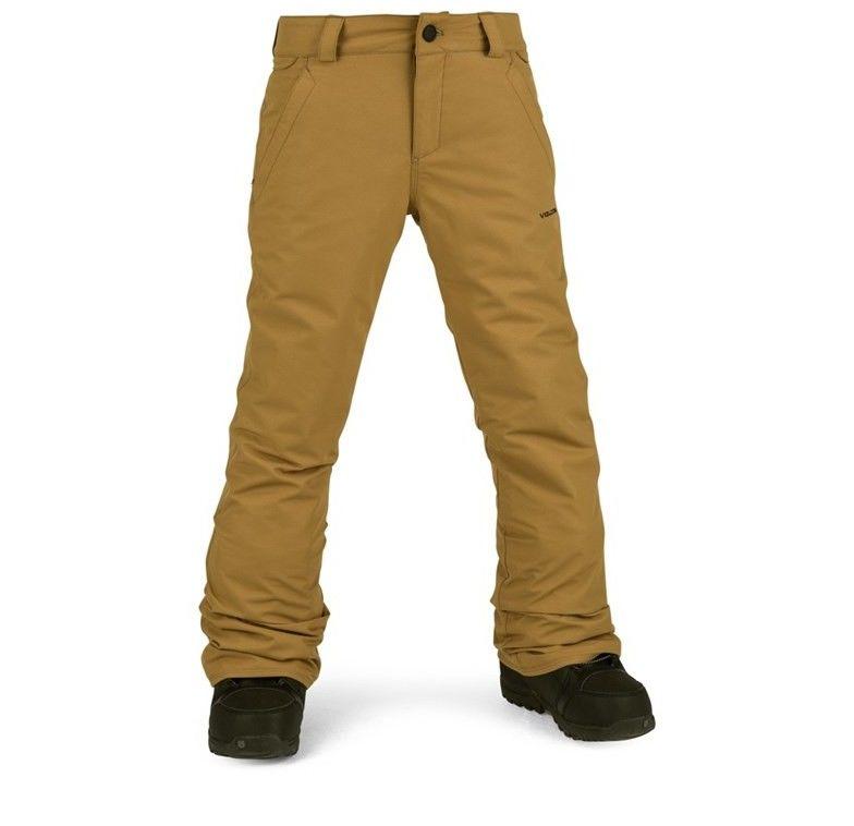 spodnie VOLCOM - Freakin Snow Chino Burnt Khaki (BUK)