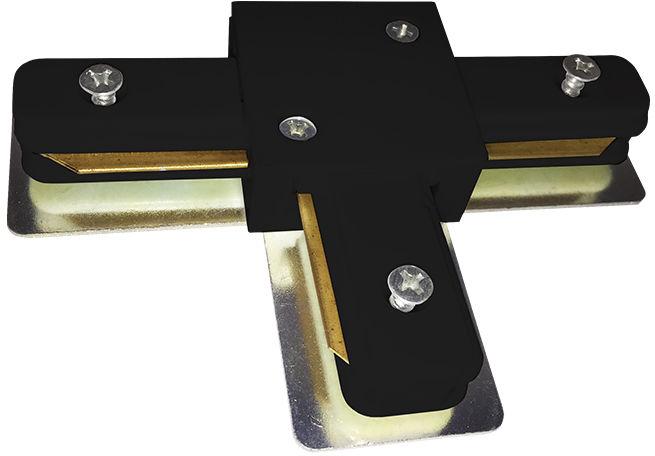 Milagro TRACK LIGHT ML3921 łącznik T do systemu szynowego czarny metal