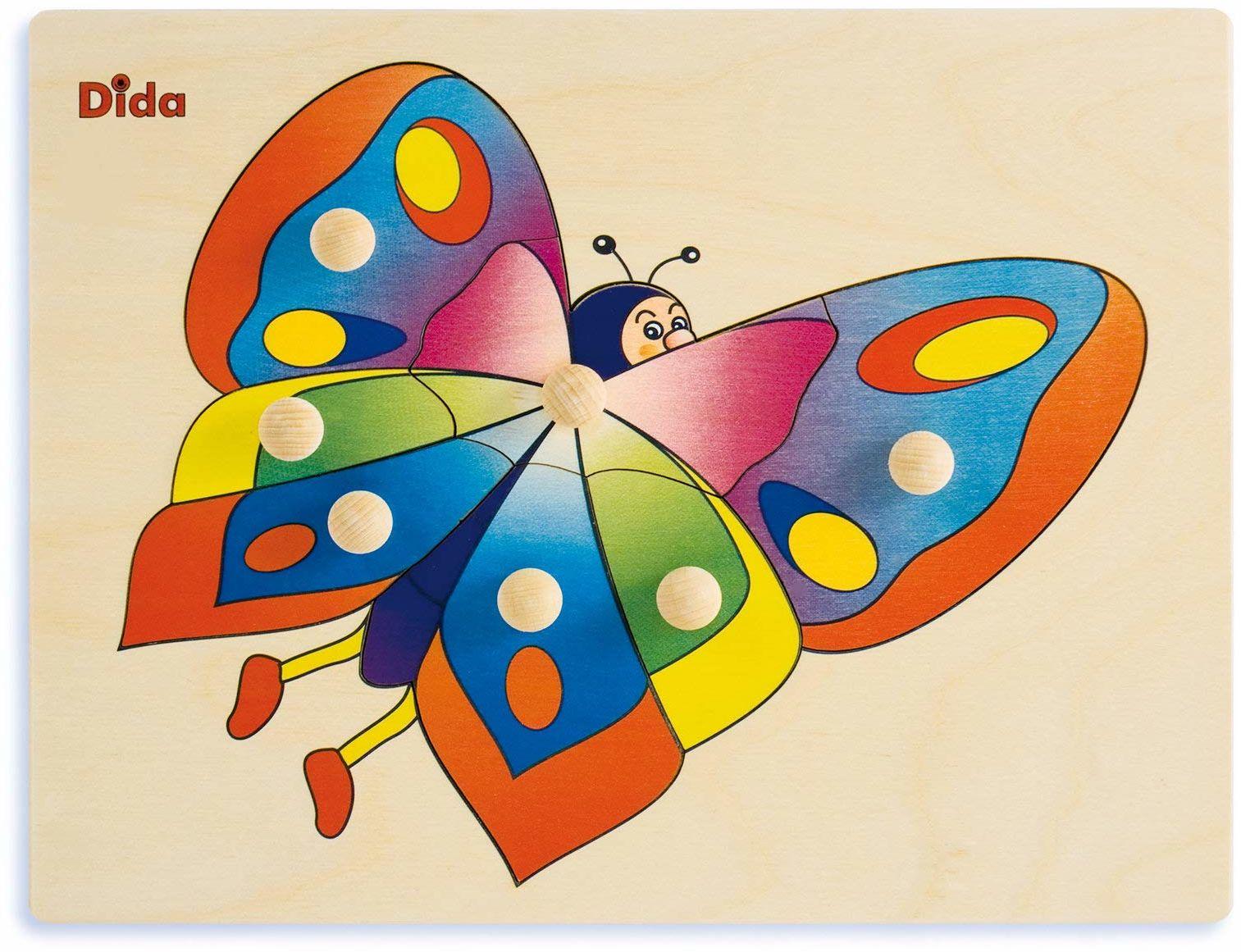 Dida - Drewniane puzzle P15