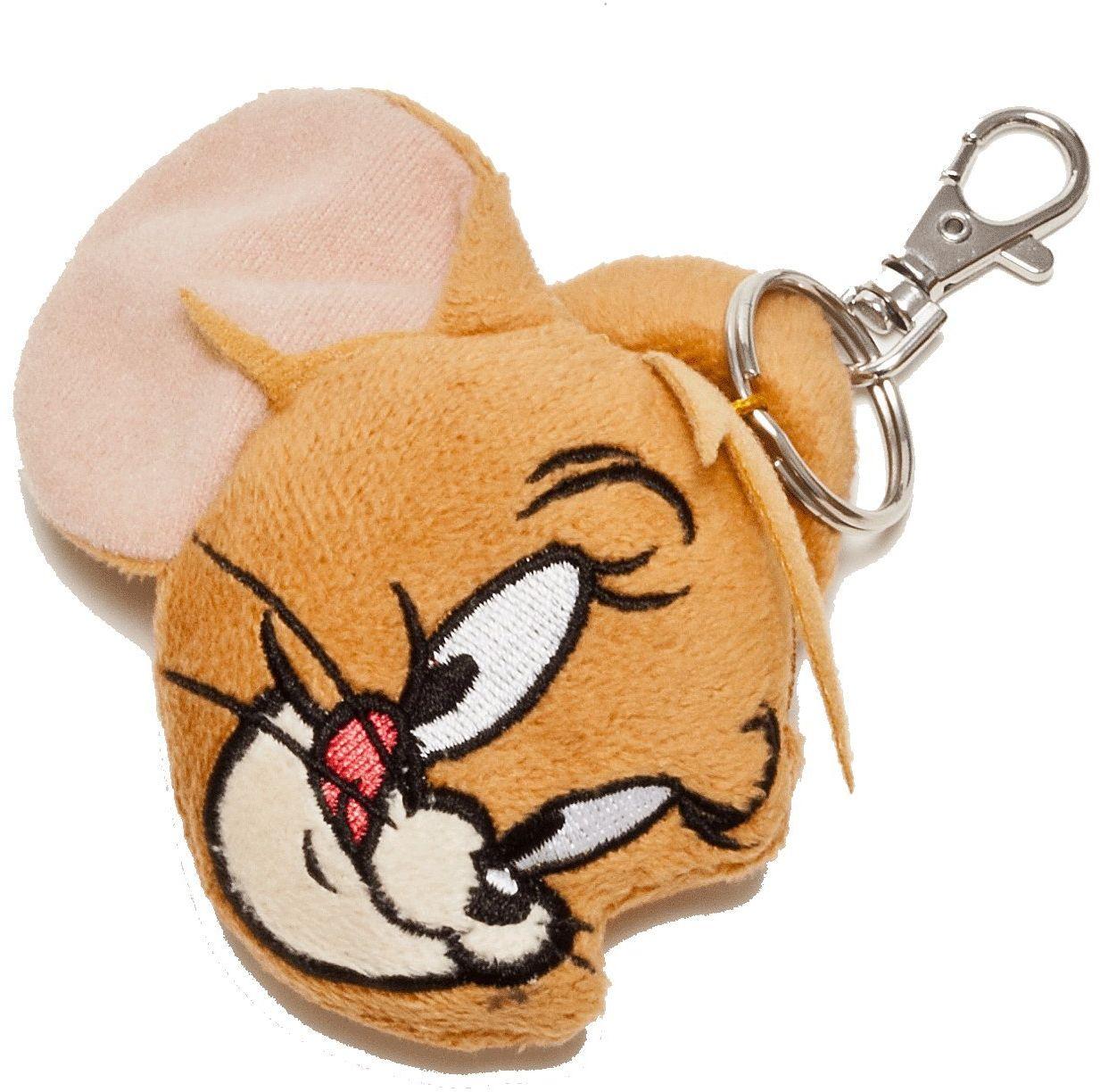 Tom & Jerry 233326 - Jerry pluszowy stojak na skarby, 7 cm