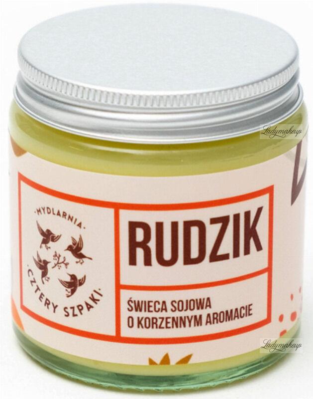 Mydlarnia Cztery Szpaki - Świeca sojowa o korzennym aromacie - Rudzik