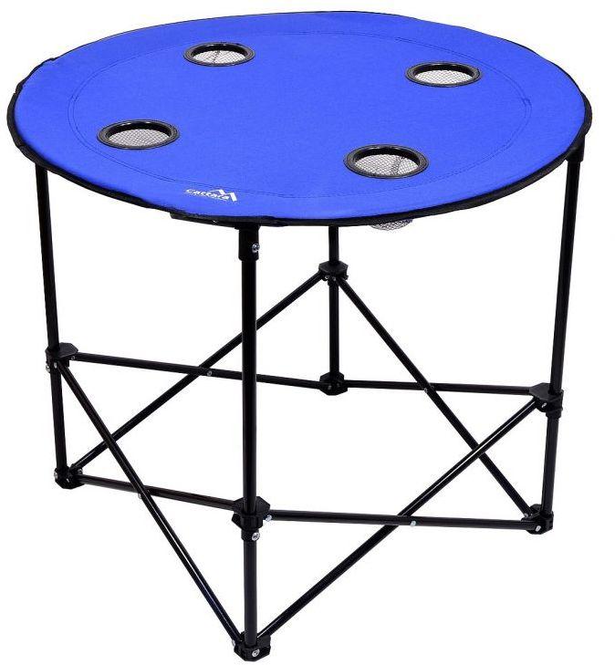 Składany stół kempingowy SPLIT niebieski
