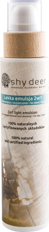 Shy deer Lekka Emulsja 2w1 do Demakijażu i Oczyszczania, 200 ml