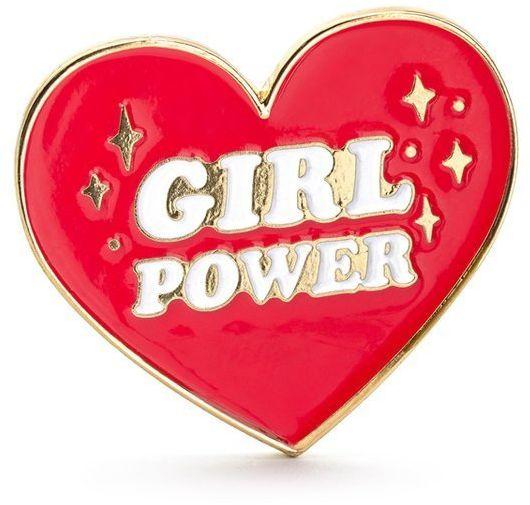 Przypinka Girl Power 3 x 3 cm 1szt. PN2