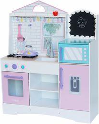 KidKraft 10119 kuchnia do zabawy z drewna, różowo-wielokolorowa