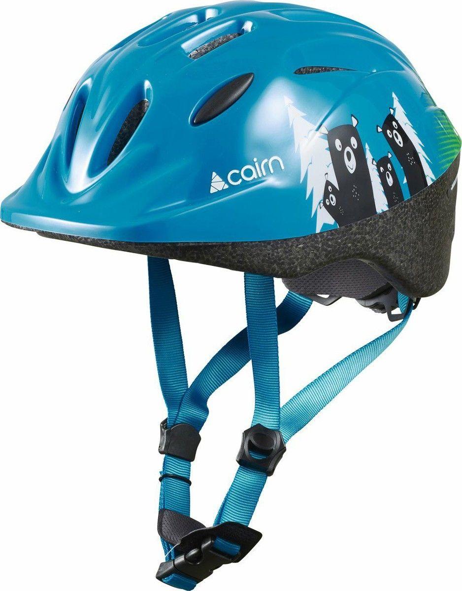 CAIRN Kask rowerowy dziecięcy R SUNNY, BLUE GREEN, 0300129329 Rozmiar: 48-52,0300129329