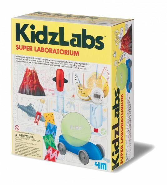 Super laboratorium 4m kidzlabs