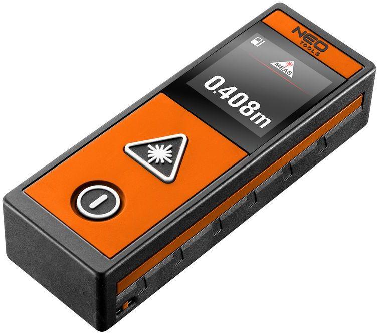 Dalmierz laserowy 40m, ekran dotykowy 75-203
