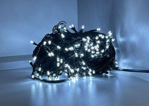 Lampki choinkowe LED 300 zimne + flash