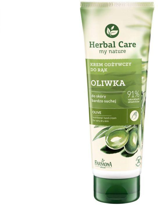 Krem odżywczy do rąk Oliwka Herbal Care 100ml