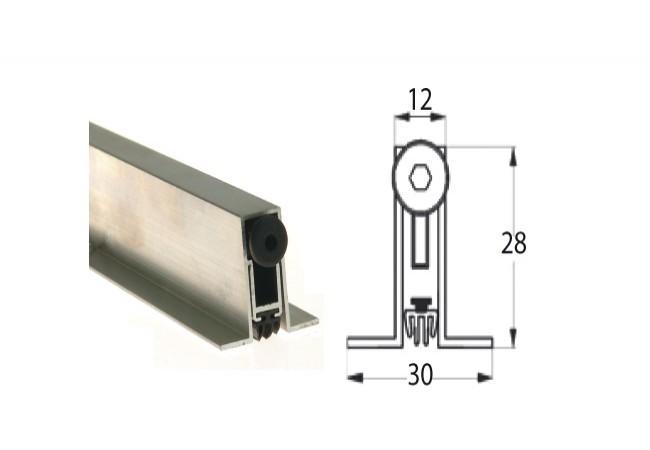 Listwa progowa STRIBO E 2030A 730 mm z podporą