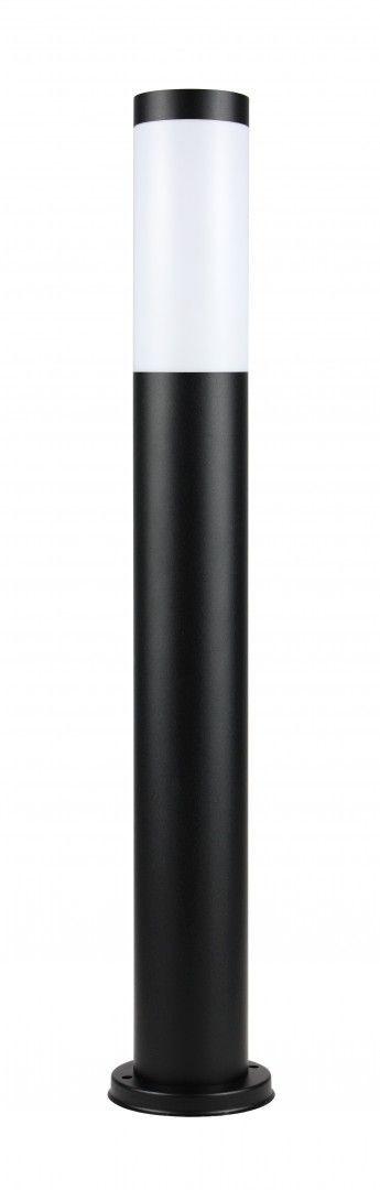 SU-MA Inox Black ST 022-650 lampa stojąca czarna E27 65cm