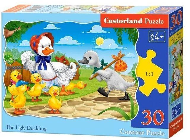Puzzle 30 Brzydkie Kaczątko CASTOR - Castorland