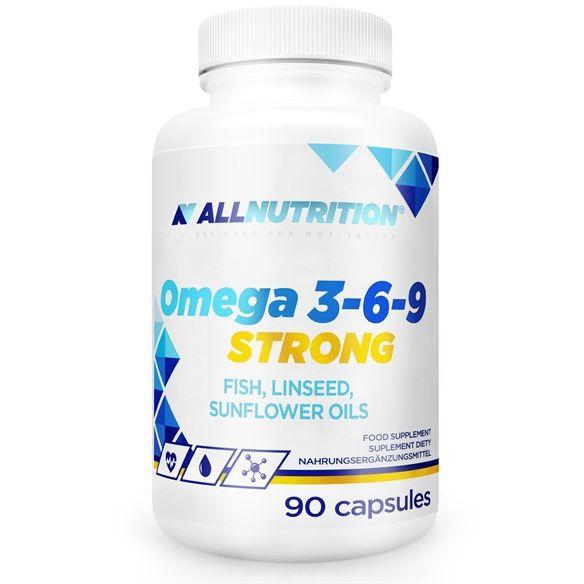 Omega 3-6-9 Strong 90 kapsułek