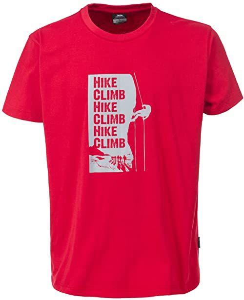 Trespass Tramore męski T-shirt Czerwony XS