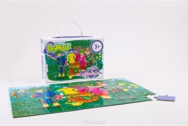Puzzle - Domisie w ogrodzie - Felico