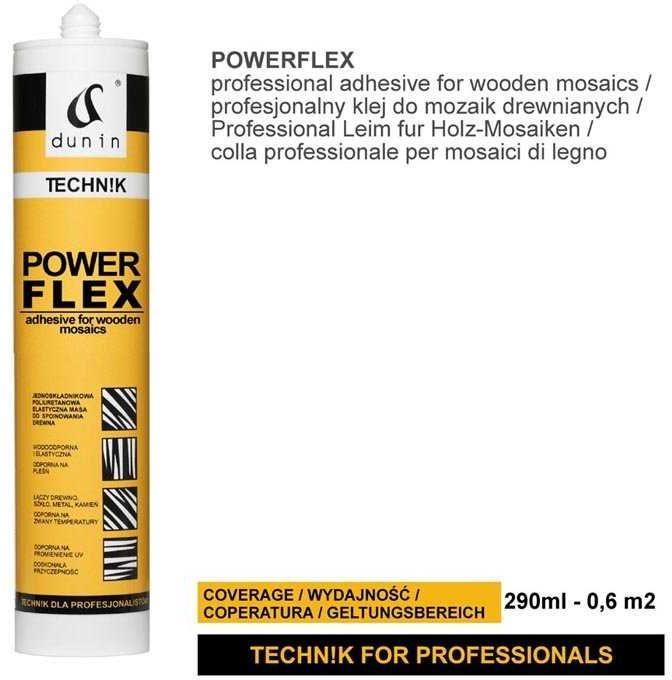 Klej DUNIN TECHN!K powerflex 290 ml do mozaiki drewnianej