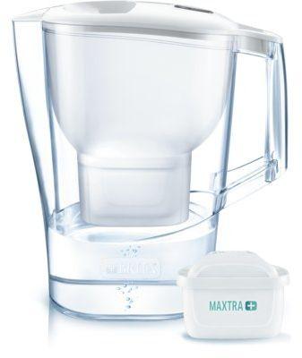 Dzbanek filtrujący BRITA Aluna XL Biały + wkład Maxtra Pure Performance WYBRANY PIĄTY PRODUKT 99% TANIEJ