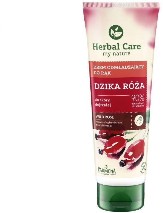 Krem odżywczy do rąk Dzika Róża Herbal Care 100ml