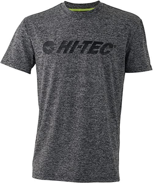 Hi-Tec Męski T-shirt Garcia, średni szary Marl, XL