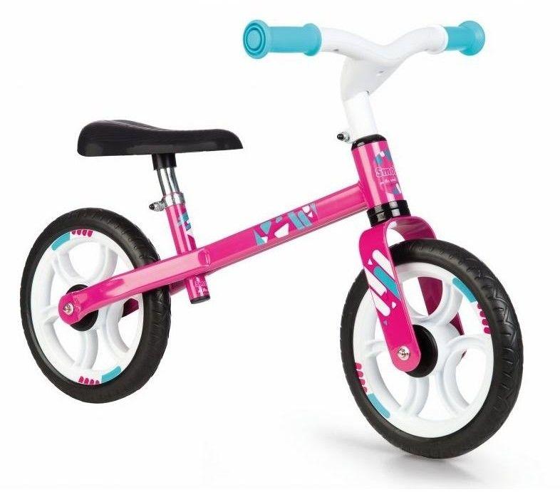 Smoby - Mój Pierwszy Rowerek biegowy Różowy 770205