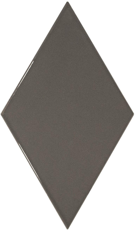 Rhombus Wall Dark Grey Smooth 15,2x26,3