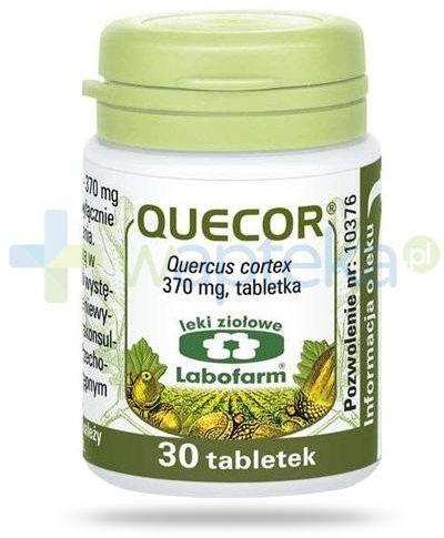 Labofarm Quecor 370 mg 30 tabletek
