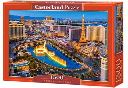 Puzzle 1500 Fantastyczne Las Vegas CASTOR