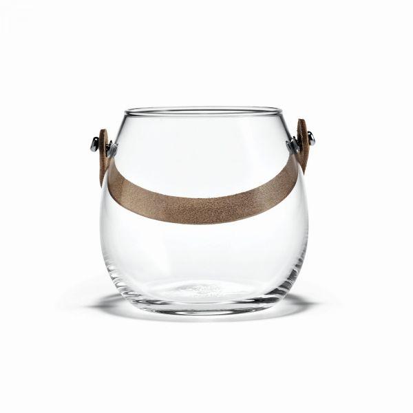 Holmegaard DESIGN WITH LIGHT Pot - Świecznik lub Wazon 10 cm
