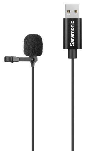 Saramonic SR-ULM10 Mikrofon krawatowy ze złączem USB PC / Mac