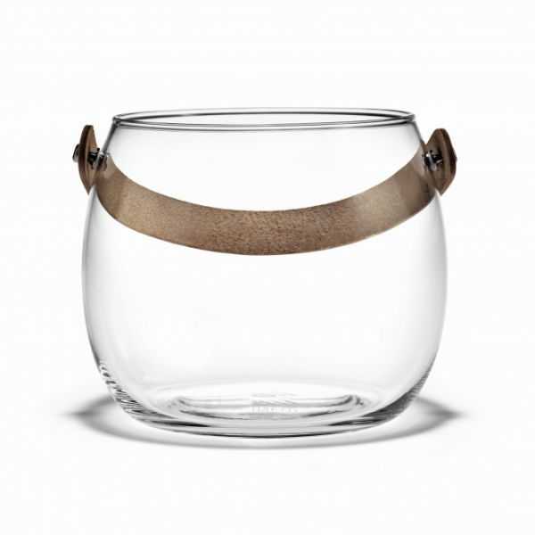 Holmegaard DESIGN WITH LIGHT Pot - Świecznik lub Wazon 12 cm