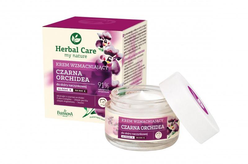 HERBAL CARE Krem wzmacniający CZARNA ORCHIDEA 50ml (etykieta w wersji angielskiej)