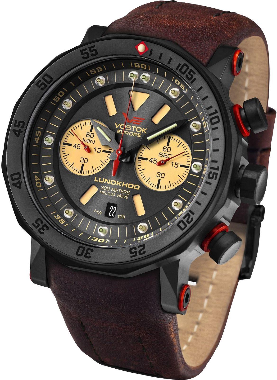 Zegarek męski Vostok Europe Lunokhod 2 Chrono Limited Edition