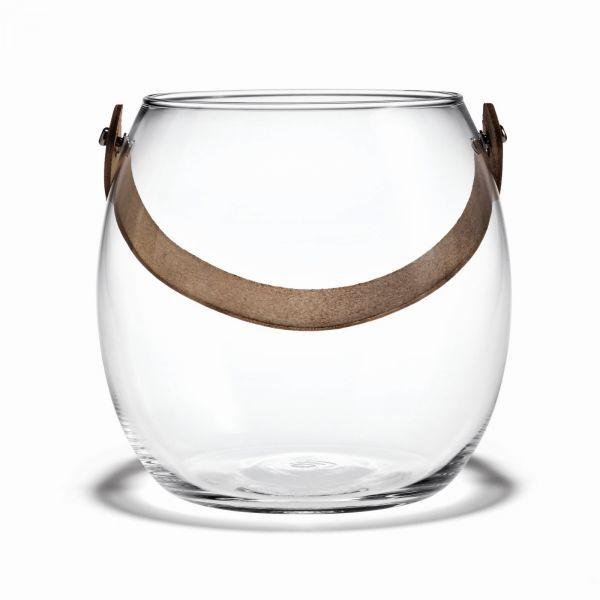 Holmegaard DESIGN WITH LIGHT Pot - Świecznik lub Wazon 16 cm