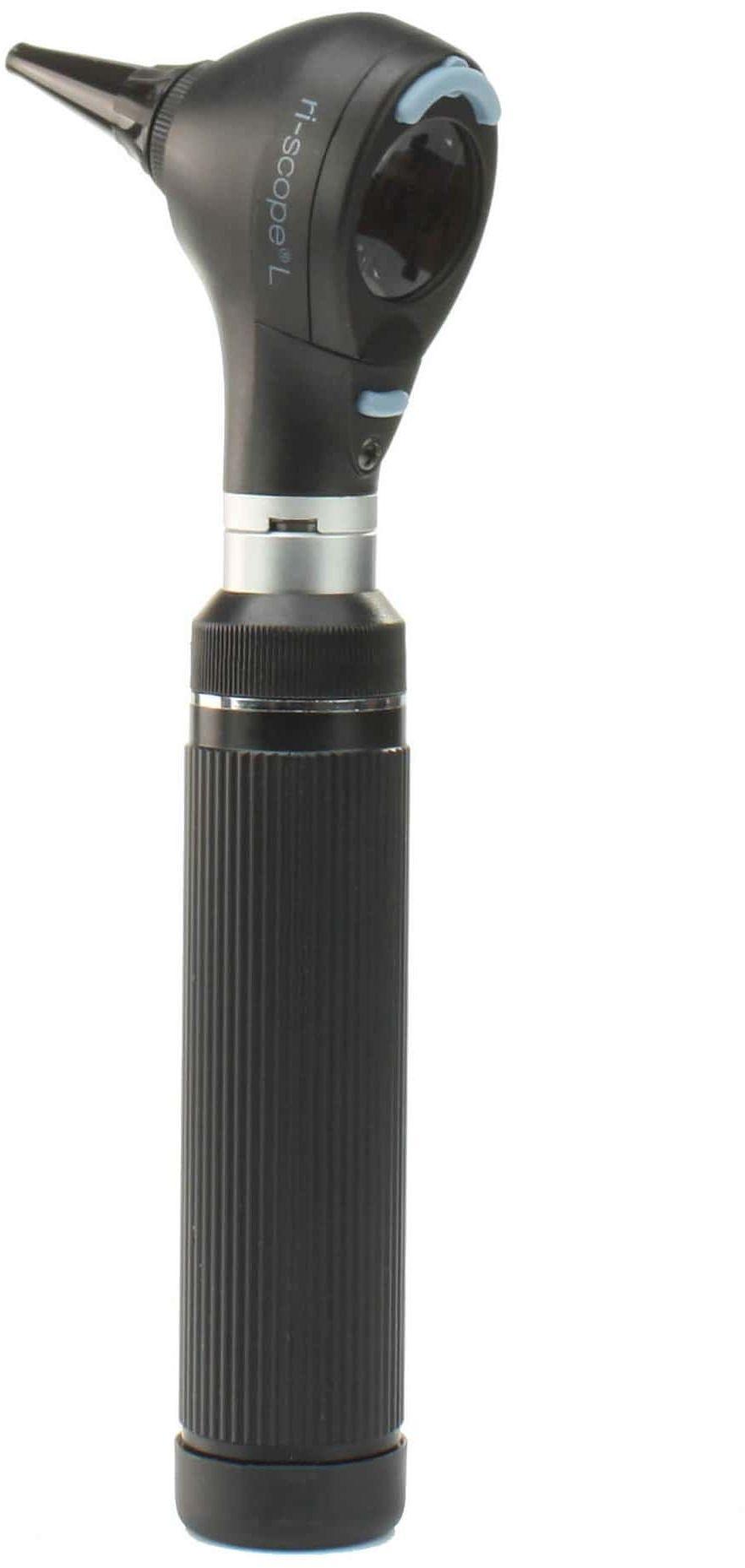 Riester ri-scope L1 otoskop z światłem kierunkowym XL 3,5 V rękojeść bateryjna AA z akumulatorem i ładowarka