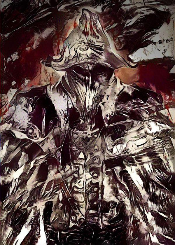 Legends of bedlam - eileen the crow, bloodborne - plakat wymiar do wyboru: 70x100 cm
