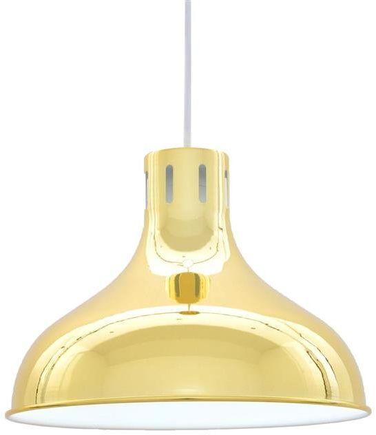 Lumina Deco Corrado złota lampa wisząca