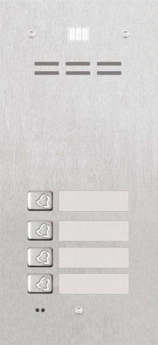 Domofon cyfrowy z czytnikiem breloków i 4 przyciskam FAM-P-4NPACC