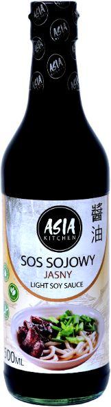 Sos sojowy jasny 500ml - Asia Kitchen