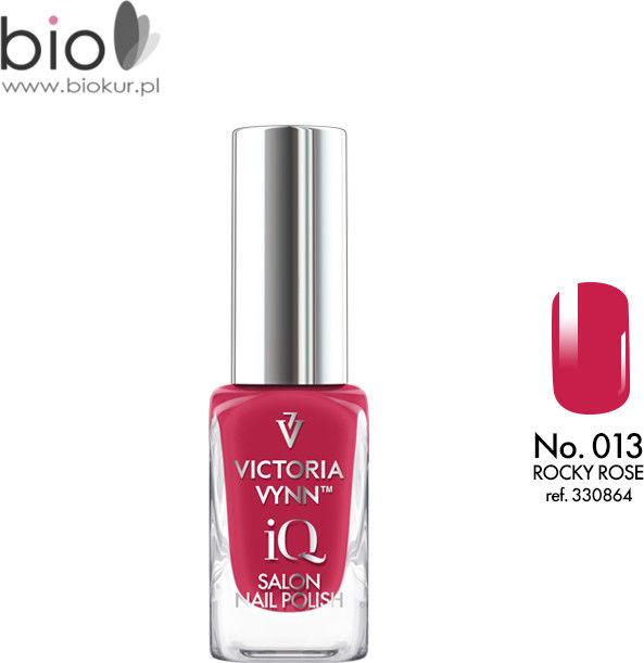 Lakier klasyczny Nail Polish iQ 013 ROCKY ROSE Victoria Vynn - 9 ml